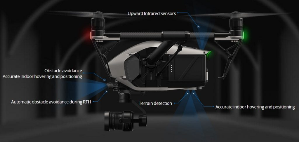 The DJI Inspire 2 Is Packed With Sensors And Advanced Features That Should Make It Easier Safer More Enjoyable To Fly Operate