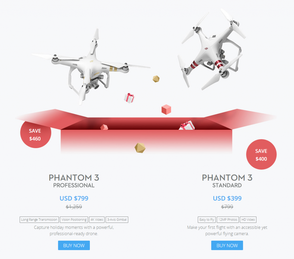 DJI launches Christmas sale; offers great discounts on a few drones ...