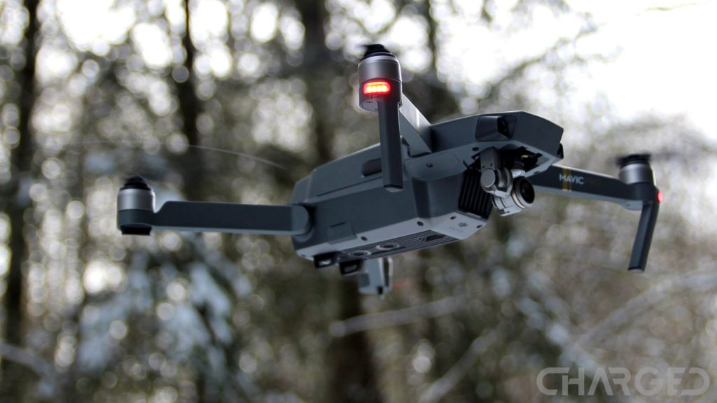 DJI Mavic Pro ch featured in flight