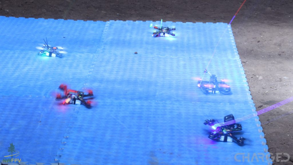 Drone Racing NWFPV MultiGP league ch led streaks