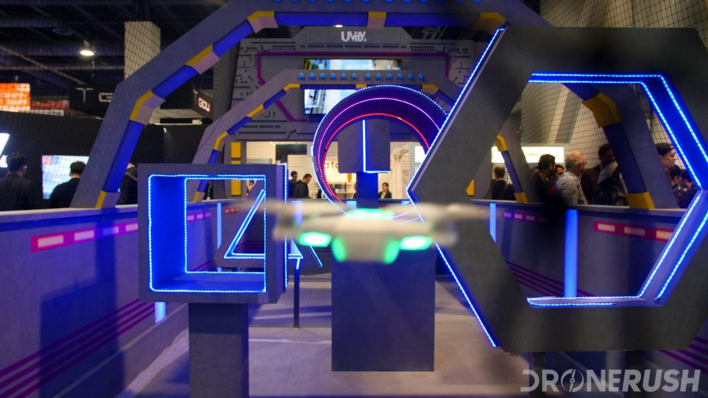 CES 2018 dr Uvify flight cage