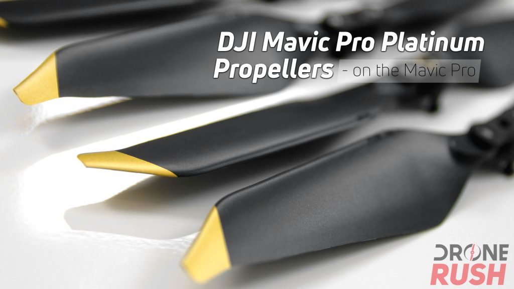 DJI Mavic Pro Platinum Propellers on og mavic featured yt DR