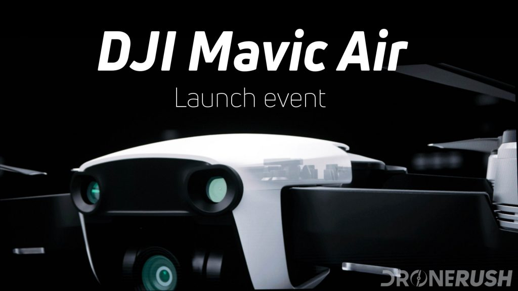 Im Sure Youve Heard That DJI Has Announced The New Mavic Air A Compact Folding Drone Packs Best Of Pro And Spark Into One