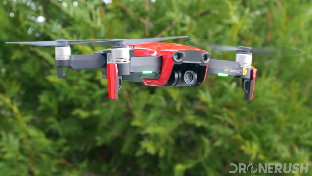 DJI Mavic Air first flight DR front angle4