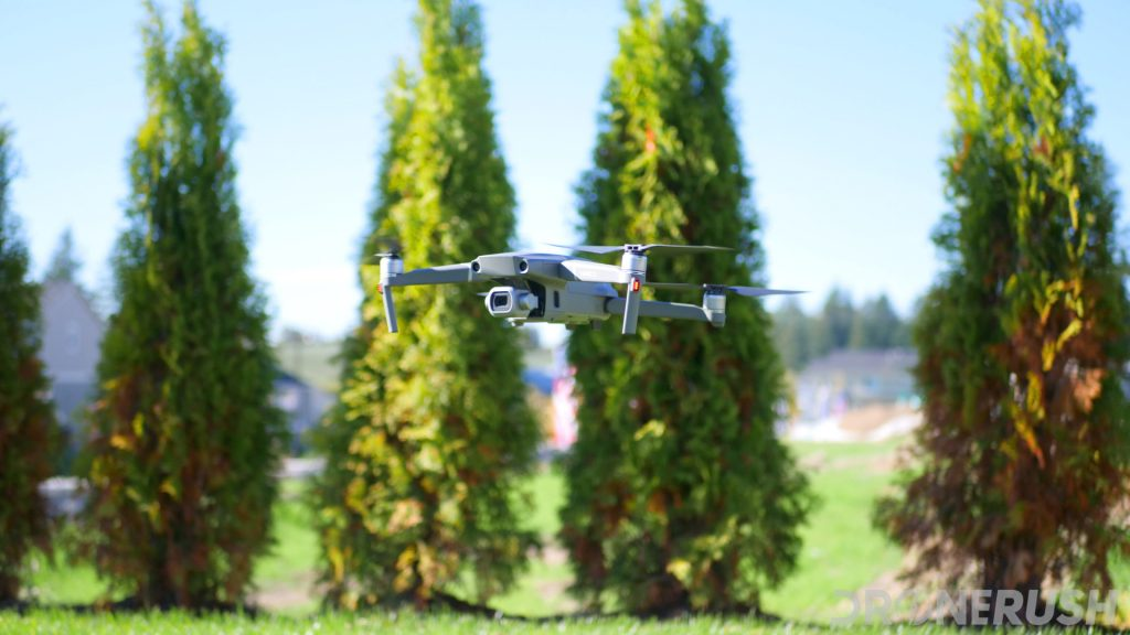 DJI Mavic 2 Pro flying trees