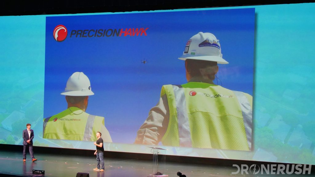 PrecisionHawk stage at AUVSI Xponential 2019