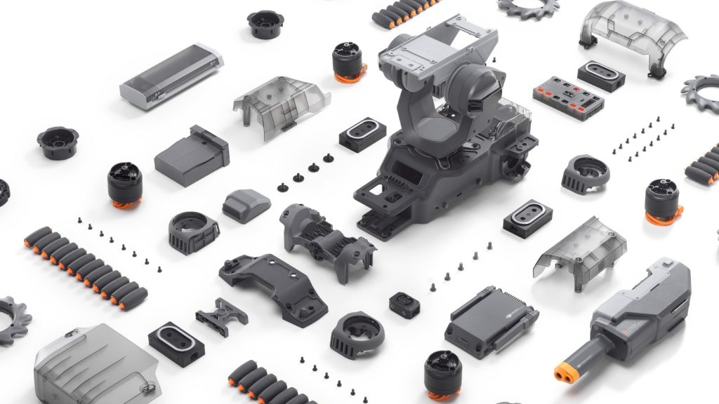 DJI RoboMaster S1 parts and accessories
